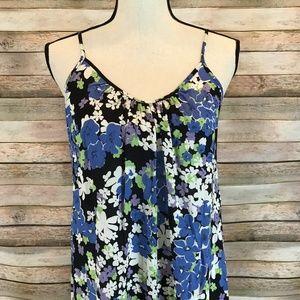 Wildfox Swim - NWT Wildfox Swim Blue Bouquet Margrette Maxi Dress
